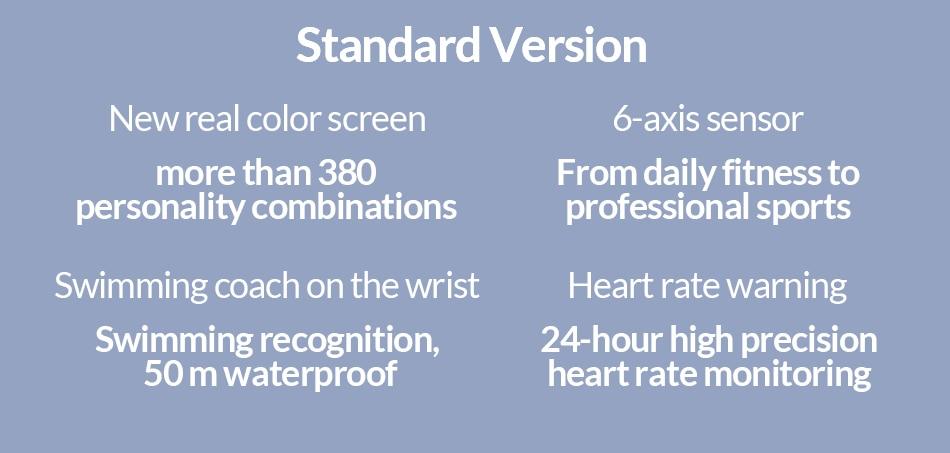 Xiaomi Mi Band 4 Newest Sport Miband 4 Smart Bracelet Heart Rate Fitness Tracker 135mAh Color Screen Waterproof Bluetooth 5.0
