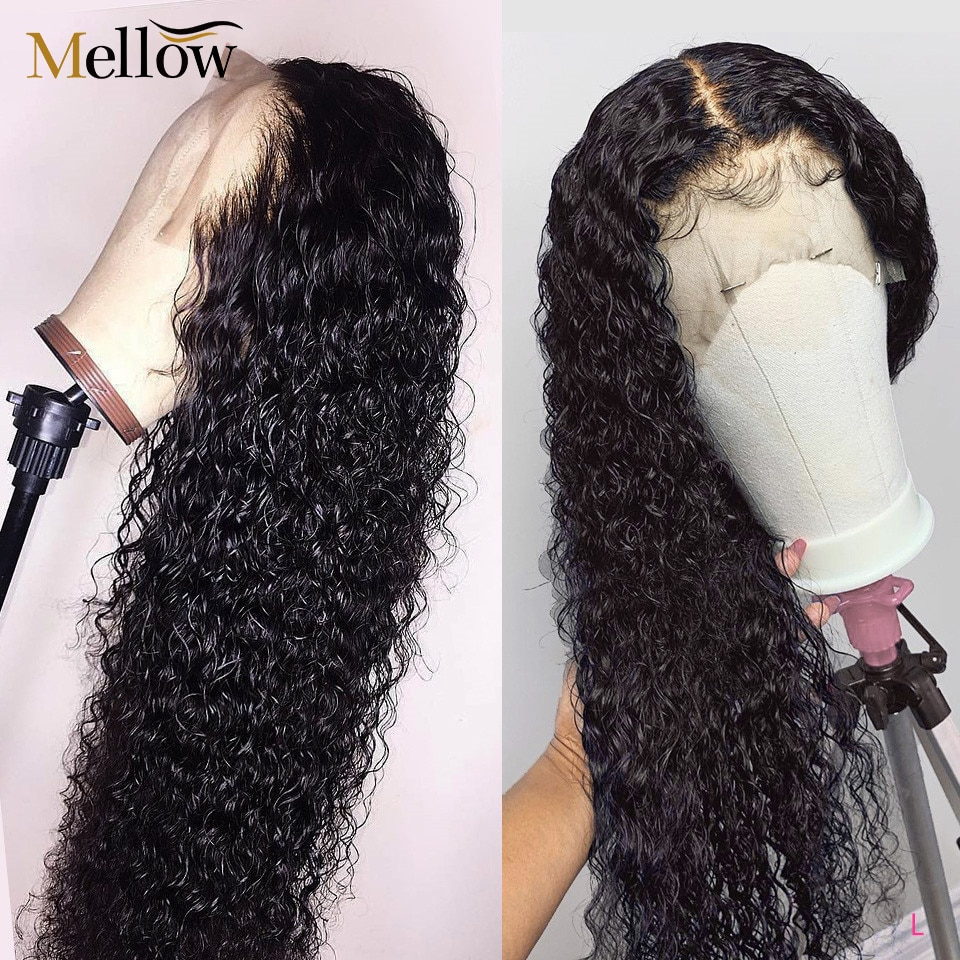 Brazilian Jerry Curl Wig Lace Front Wig Short Curly Lace Front Human Hair Wigs Pre Plucked 13X4 13X6 Wigs For Black Women
