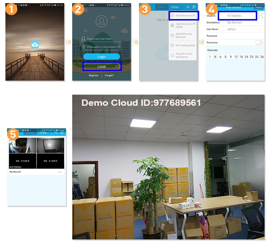 Hiseeu 8CH Wireless CCTV System 1080P 1TB 4pcs 2MP NVR wifi IR-CUT Outdoor CCTV Camera IP Security System Video Surveillance Kit
