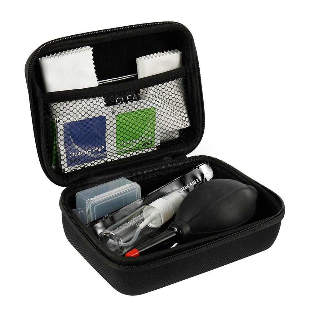 46pcs/set Cleaning Kit Sensor DSLR Lens Digital Camera Cleaner Kit DKL-20 for Sony Fujifilm Nikon Canon SLR Cameras Clean Set