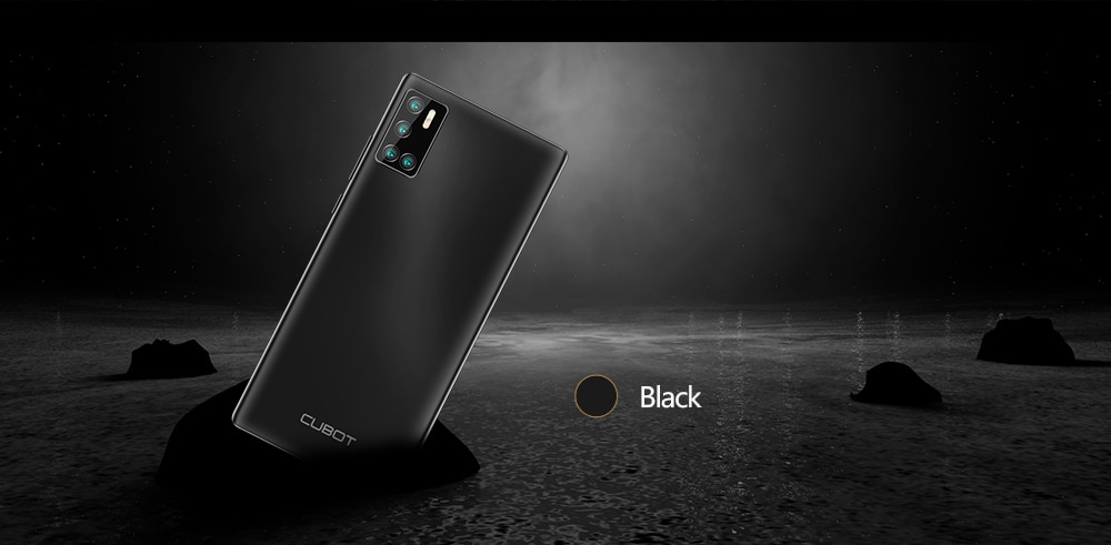 Cubot P40 Rear Quad Camera 20MP Selfie Smartphone NFC 4GB+128GB 6.2 Inch 4200mAh Android 10 Dual SIM Card mobile phone 4G LTE