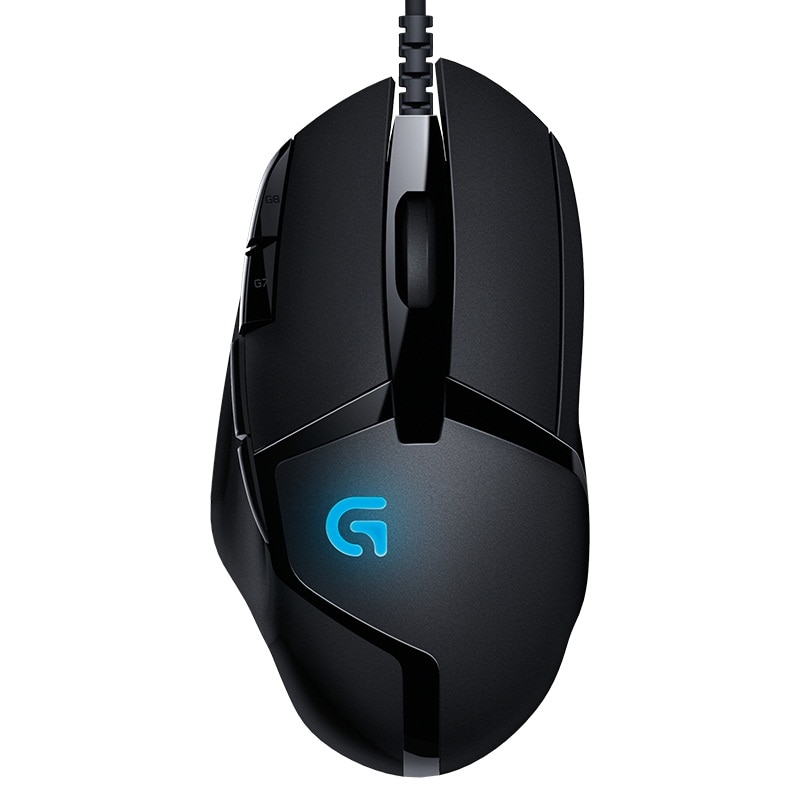 Original Logitech G402 Hyperion Fury FPS Gaming Mouse with Optical 4000DPI High Speed Fusion Engine Gaming Mouse Multiple office