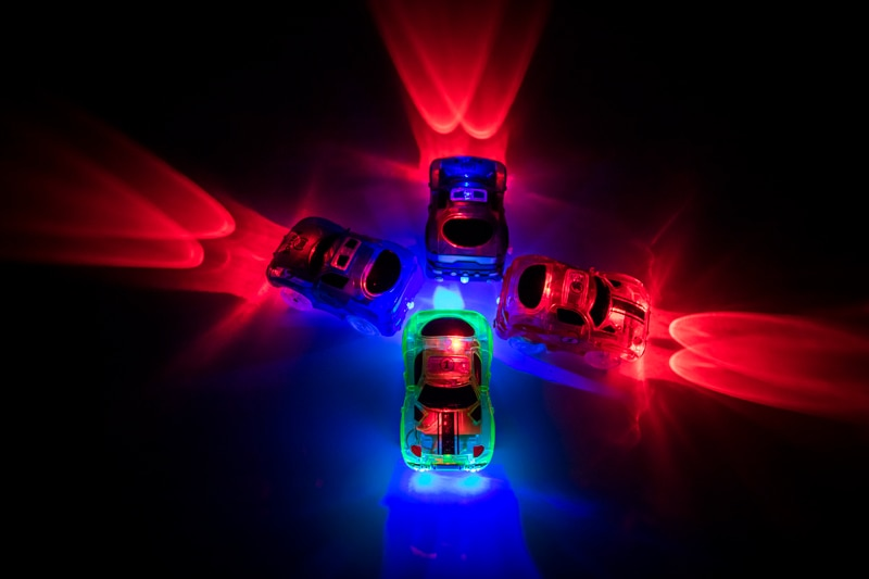 Magical Glowing Race Track DIY Universal Accessories Ramp Turn Road Bridge Crossroads Rail Car Toy Racing Tracks Kids Gifts