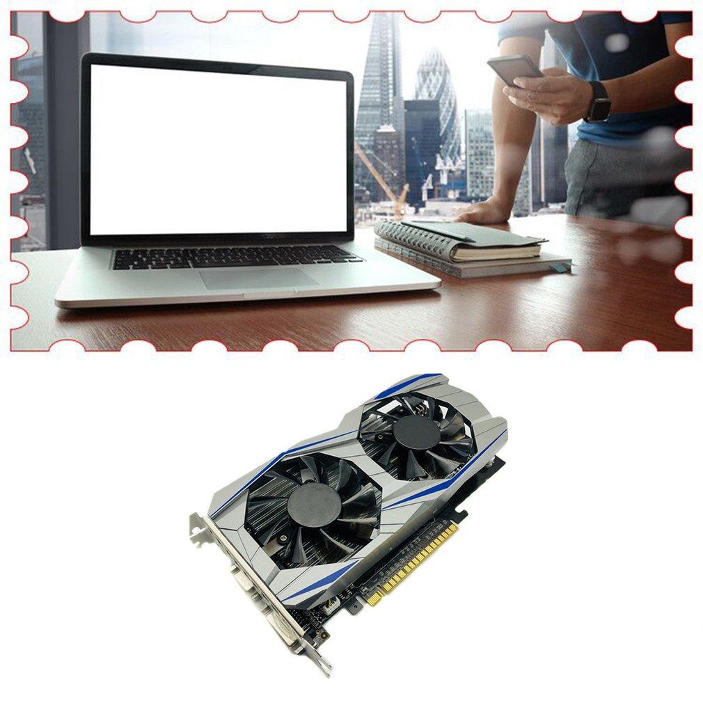 Professional GTX1050TI 4GB DDR5 Graphics Card Silver blue 128Bit HDMI DVI VGA GPU Game Video Card For NVIDIA PC Gaming