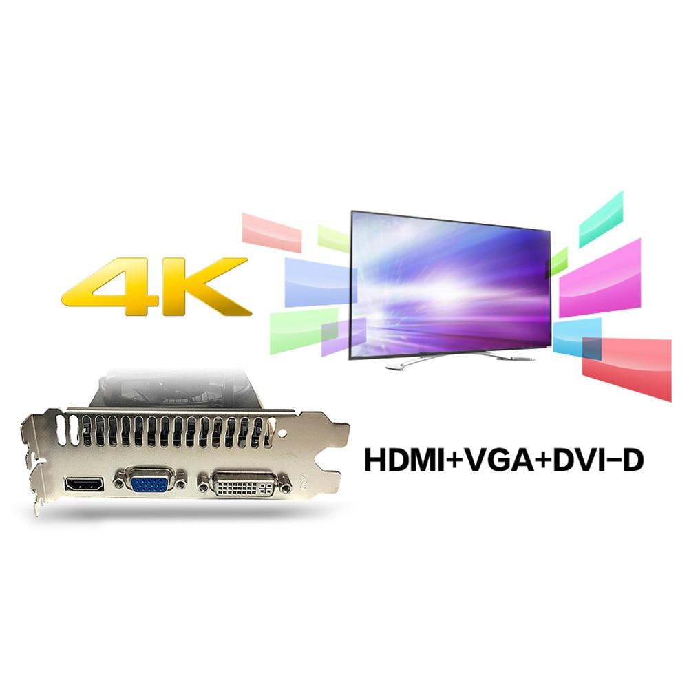 Yeston GT 730 Graphics Card 2GB GDDR5 HDMI VGA DVI GT730 64Bit Single Fan Video Card 902/5012MHz GPU for Desktop PC Computer