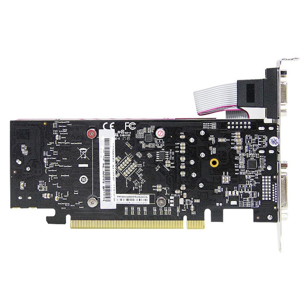 1183/6000MHz Yeston RX550-2G D5 LP 2G 64bit GDDR5 GPU Fan Graphics Card PCI Express 3.0 Computer Gaming Video Module