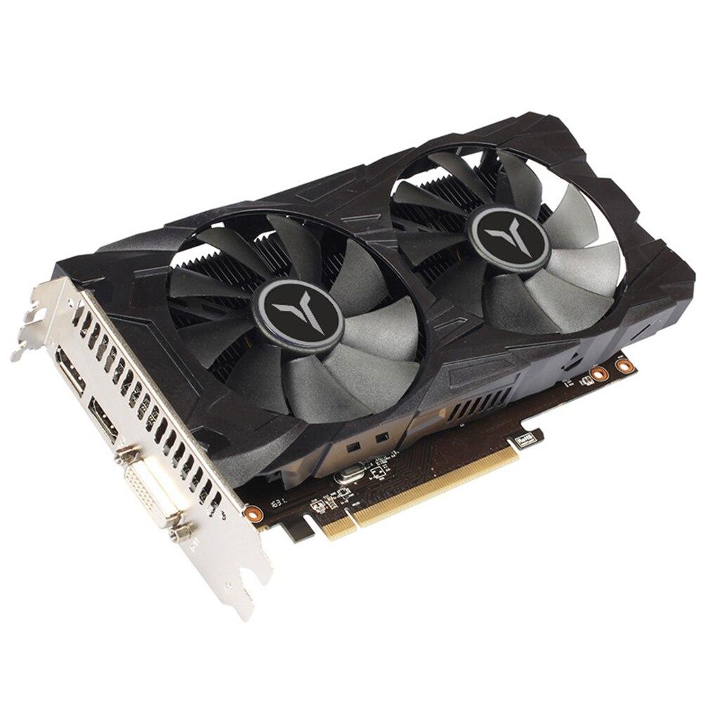 Yeston RX560D-4G D5 Dual Fan GPU Graphics Card 1200/6000MHz 4G 128bit GDDR5 Gaming Video Player Module for Desktop Computer